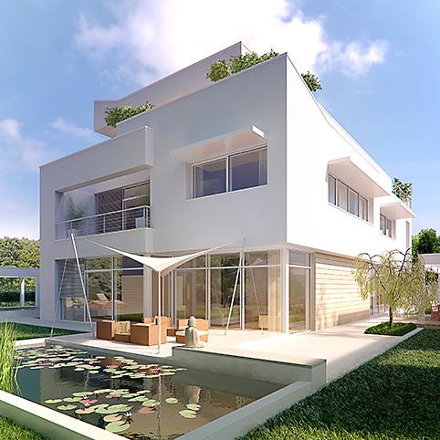 Dibelius Architekten Moderne Villen Villa N 31 Düsseldorf